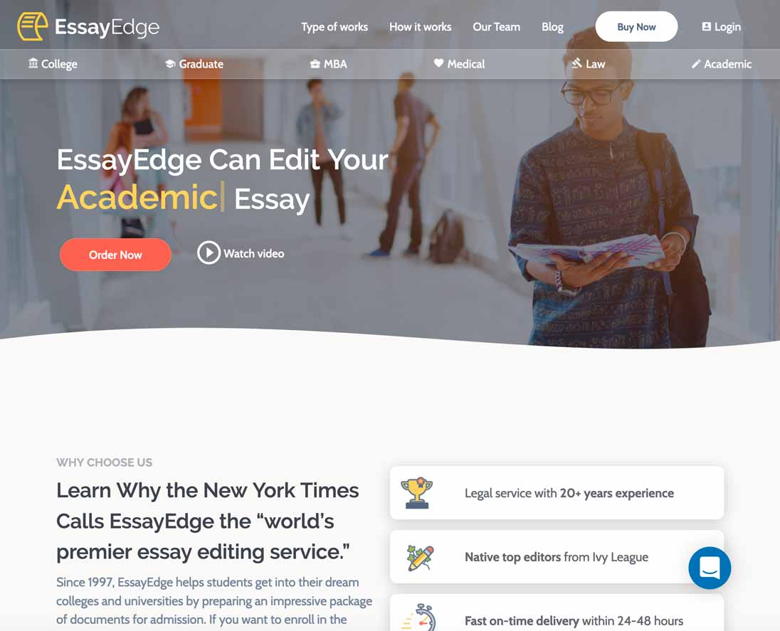 EssayEdge.com Review
